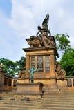 Prague, Slavin mausoleum in Vysehrad Stock Photos