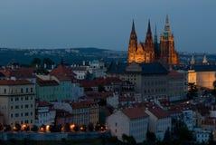 Prague slott Fotografering för Bildbyråer