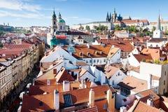 Prague slott, Prague (UNESCO), Tjeckien Royaltyfri Fotografi
