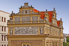 Prague, Smetana Museum, detail Royalty Free Stock Photos