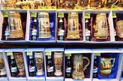 Prague souvenirs Stock Photography
