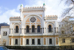 Prague. Spanish synagogue. stock photo