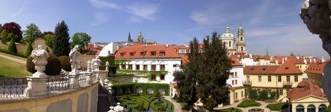 Prague in spring royalty free stock image