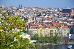 Prague in spring Royalty Free Stock Photos