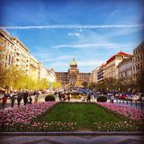 Prague spring Stock Photography