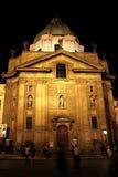 Prague St Francis av Assisi kyrka 01 Fotografering för Bildbyråer