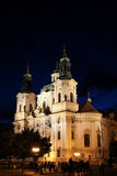 Prague St Mikulas Church Royalty Free Stock Image
