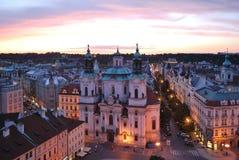 Prague. St.Nicholas Royalty Free Stock Image