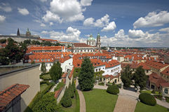 Prague, St. Nicholas Cathedral Stock Photography
