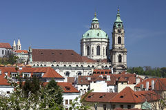 Prague - St. Nicholas cathedral Royalty Free Stock Photo