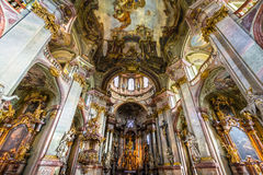 Prague, St. Nicholas Cathedral Royalty Free Stock Image