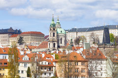 Prague - st. nicholas church Stock Photography