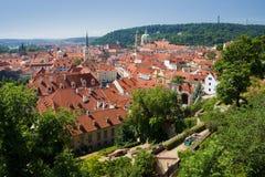 Prague - st. nicolas church Royalty Free Stock Image