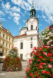 Prague, St. Nicolas Church Royalty Free Stock Images