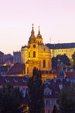 Prague - st. nicolaus church Royalty Free Stock Photo