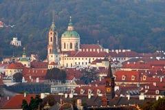 Prague - st. nicolaus church Stock Images
