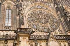 Prague St. Vitus baroque Royalty Free Stock Images