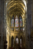 Prague - st. Vitus cathedral Stock Images