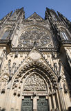 Prague - st. Vitus cathedral Stock Photos