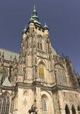 Prague-St. Vitus cathedral. (Czech Republic Royalty Free Stock Image