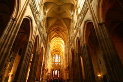 Prague. St. Vitus Cathedral Royalty Free Stock Image