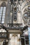 Prague St Vitus Cathedrale 02 Arkivfoton