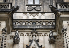 Prague St Vitus Cathedrale 01 Stock Photography