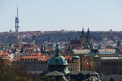 Prague stad Arkivbilder