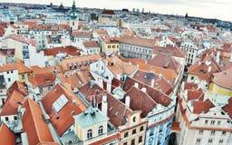Prague stad Fotografering för Bildbyråer