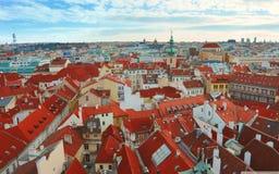 Prague stad Arkivfoton