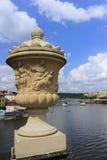 Prague stadssikter Fotografering för Bildbyråer