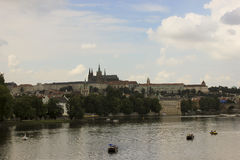 Prague stadssikter Arkivbilder