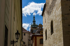 prague stary miasteczko obraz royalty free
