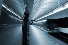 Prague - station in underground Royalty Free Stock Photos