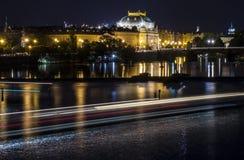 Prague strålar Royaltyfri Fotografi
