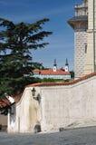 Prague Strahov monastery Stock Photo