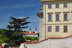 Prague Strahov monastery Royalty Free Stock Photography