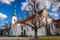 Prague Strahov Monastery. royalty free stock images