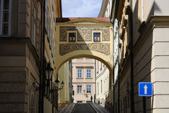 Prague Street Royalty Free Stock Photos