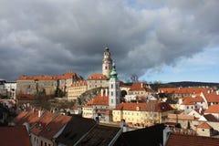 Prague street Stock Photos