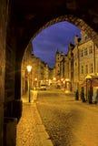 Prague street- Czech Republic Stock Images