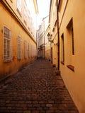 Prague street Royalty Free Stock Photo