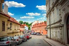 Prague street Stock Photo