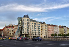 Dancing House Prague Stock Images