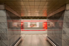 Prague Subway Royalty Free Stock Photography