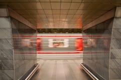 Prague Subway Royalty Free Stock Photography