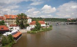Prague in Summer Royalty Free Stock Image