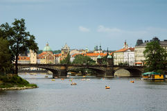 Prague summer scene Royalty Free Stock Photography