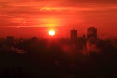 Prague sunrise Stock Images