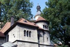 Prague. Synagoga Arkivbilder